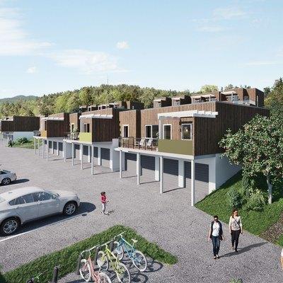 14 av 23 boliger solgt i Bjørnstadsvingen